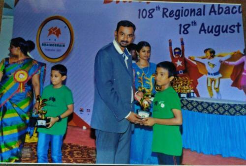 E. Hari - Abacus Winner