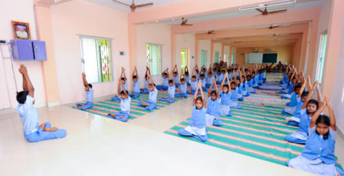 school - yoga